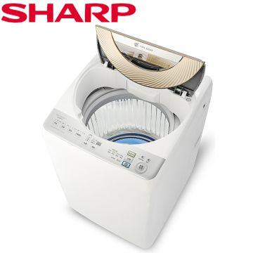 全館回饋10%樂天點數★【夏普SHARP】超靜音無孔槽變頻智能洗衣機 ES-ASD11T《預購》
