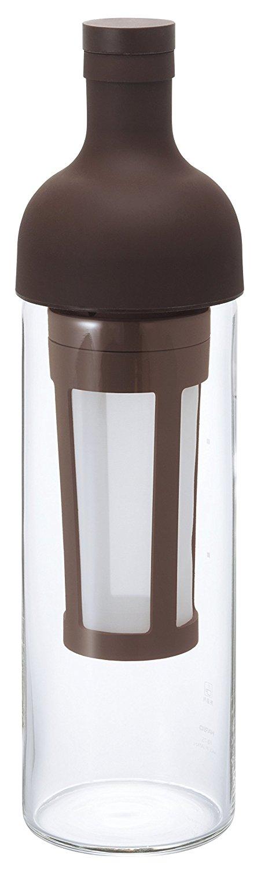 日本原裝 HARIO FIC-70 CBR 攜帶式 免濾紙 濾杯 酒瓶 冷泡咖啡壺 650ml