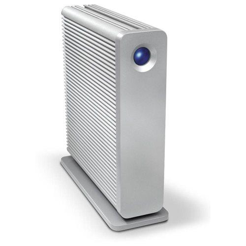 LaCie d2 Quadra 3TB eSATA/ FireWire800/ USB 3.0 External Hard Drive 0
