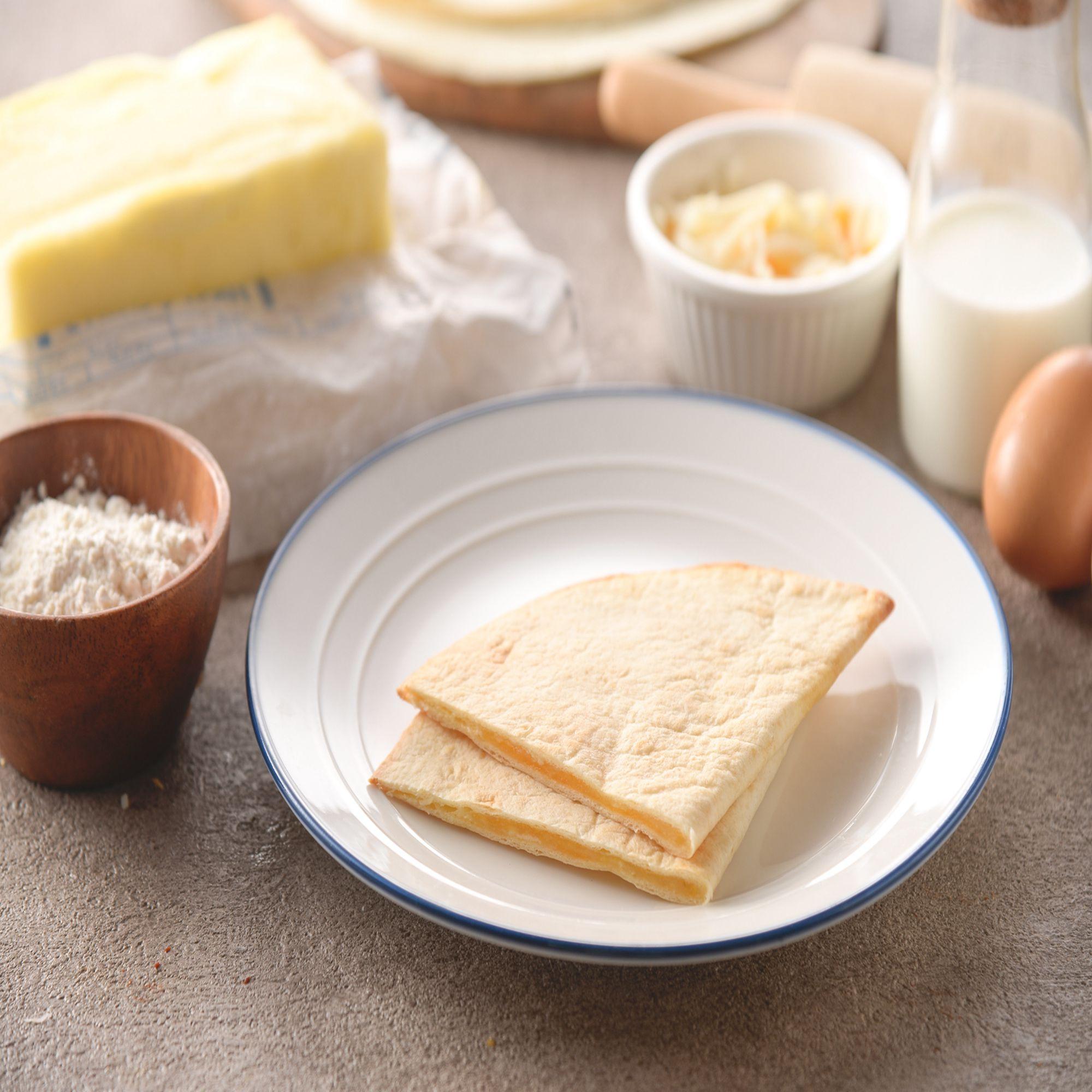 低卡脆皮義式起司烤餅【鹹甜|10入】 加熱點心 微波食品 簡單料理 17新鮮美味坊