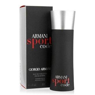香水1986☆Giorgio Armani 亞曼尼黑色密碼男香 armani code sport 香水空瓶分裝 5ml