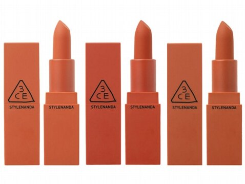 韓國3CE(3CONCEPT EYES) 橘霧顯色唇膏(3.5g) 款式可選【小三美日】◢D981081