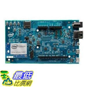 [106美國直購] Intel Edison Kit for Arduino [Dual Core Intel Atom IA-32 500MHz, 4GB eMMC Storage