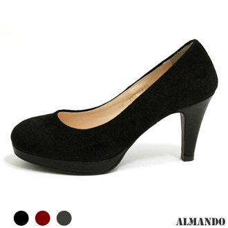 ALMANDO ★好搭素面高跟鞋●正韓
