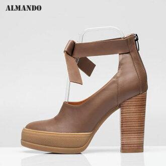 ALMANDO ★瑪莉珍粗跟高跟鞋●2色