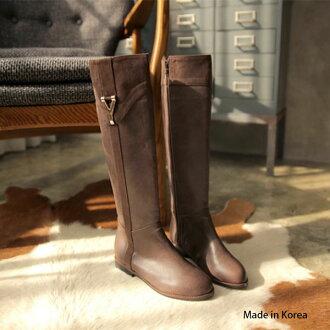 [almando-shoes]★Y 扣金飾英國軍衛長靴★韓製