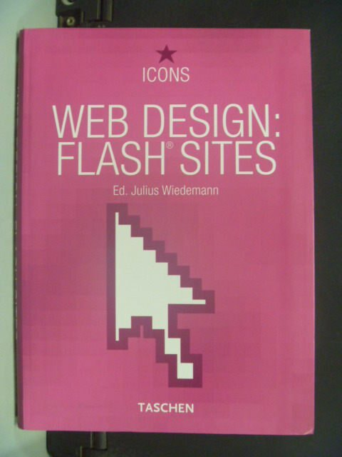 【書寶二手書T3/電腦_KHO】Web design : flash sites_原價350元