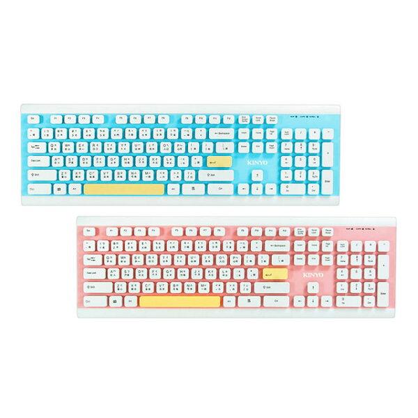 ☆宏華資訊廣場☆KINYOLKB-90USB水洗鍵盤有線鍵盤USB鍵盤