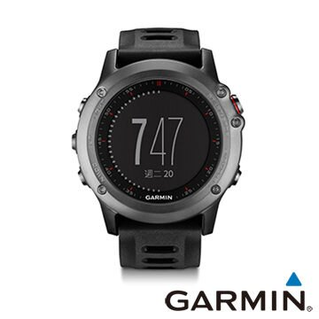 GARMIN fenix 3 全能戶外 GPS腕錶 具氣壓式高度計、氣壓計、3D電子羅盤