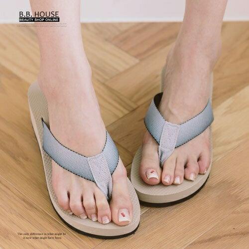 拖鞋-PLAYBOY輕盈夾腳海灘拖鞋.寶貝窩 .【PYS1207】(杏色)