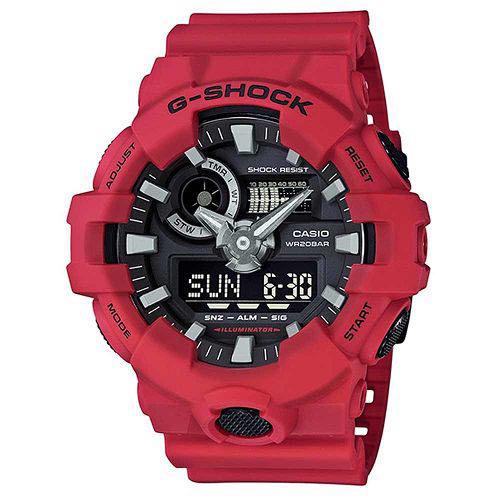 【時光鐘錶】G-SHOCK CASIO GA-700-4A 卡西歐 防水 運動 錶