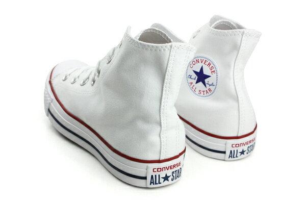 CONVERSE ALL STAR HIGH 帆布鞋 白 男女款 M7650C no989 1