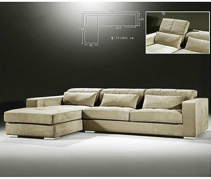 【尚品家具】617-01 布蘭朵L型全拆功能型布沙發~台灣製造《台中市部分免運》