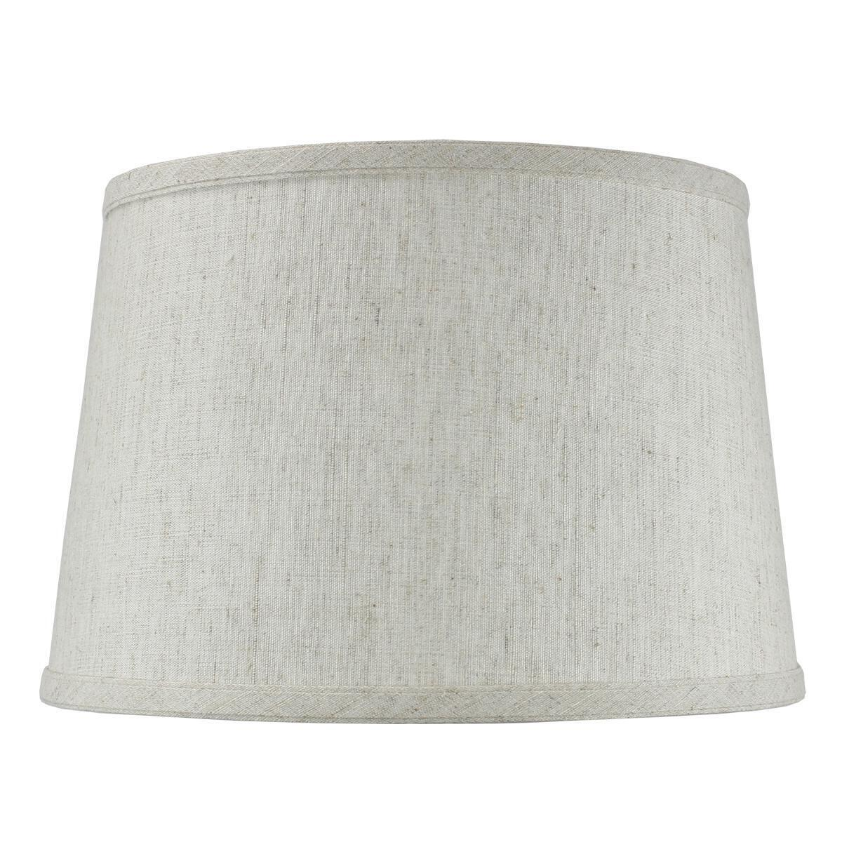 Hardback Shallow Drum Lamp Shade 10x12x8 Textured 0