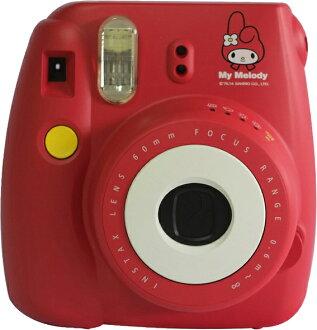 【和信嘉】FUJIFILM Mini8(美樂蒂) 拍立得 三麗鷗 Sanrio Melody 富士 半自動 即可拍 底片相機 保固一年