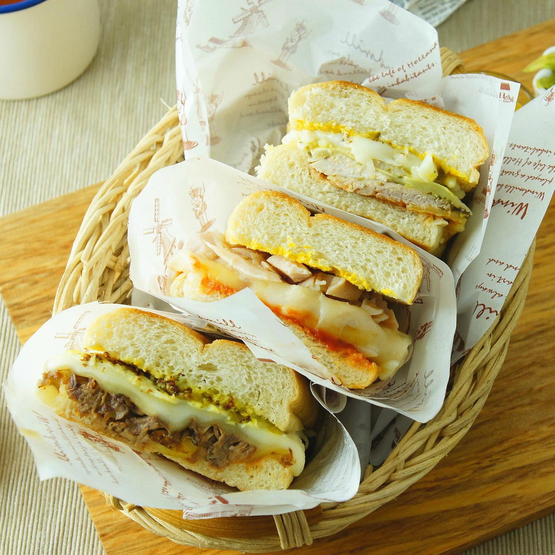 三明治3入+招牌肉串5入