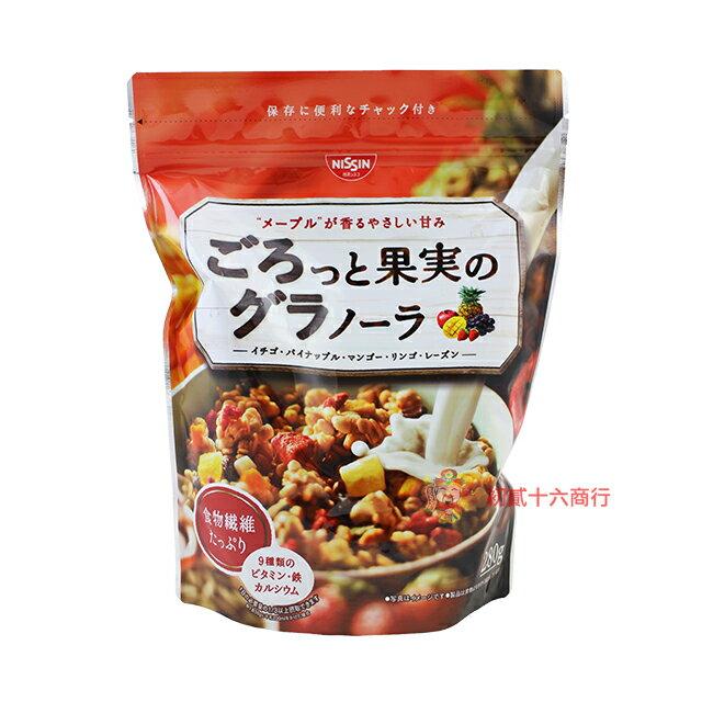 【0216零食會社】日本-日清榖物早餐水果麥片280g