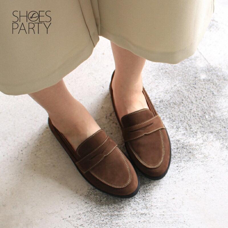 現貨【F2-17712L】內外全真皮樂福休閒鞋_Shoes Party 4