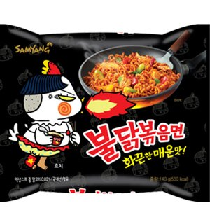 韓國 噴火辣雞肉風味炒麵 泡麵 [KR078] 1