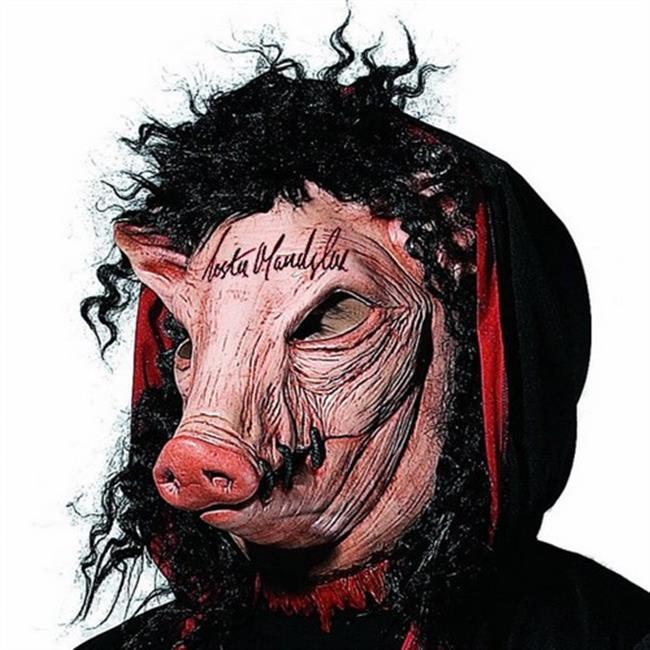 奪魂鋸 豬頭 頭套 殺手面具/眼罩/面罩 cosplay 表演 舞會 派對 整人 禮物【塔克】