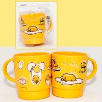 蛋黃哥週邊商品推薦蛋黃哥 馬克杯 水杯 可微波加熱 340ml 日本限定