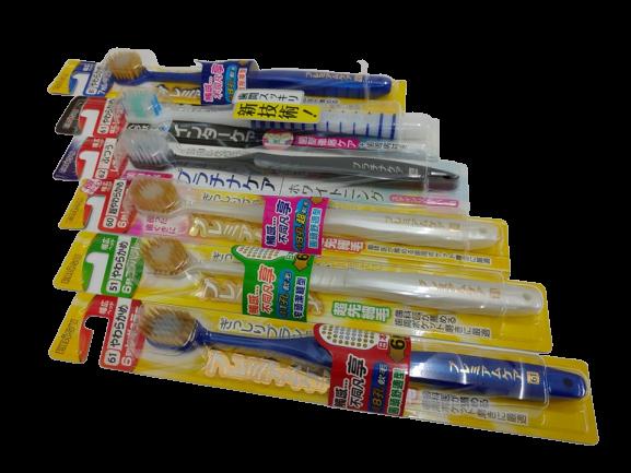 【憨吉小舖】【日本製】 EBiSU惠百施 優質倍護牙刷 1支入