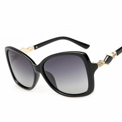 墨鏡菱形金屬拼接經典復古大框太陽眼鏡【KS8001】BOBI0315