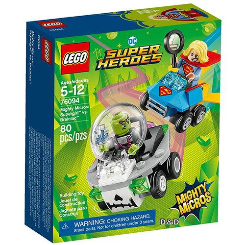 樂高積木LEGO《LT76094》2018年超級英雄系列-MightyMicros:Supergirl™vs.Brainiac™
