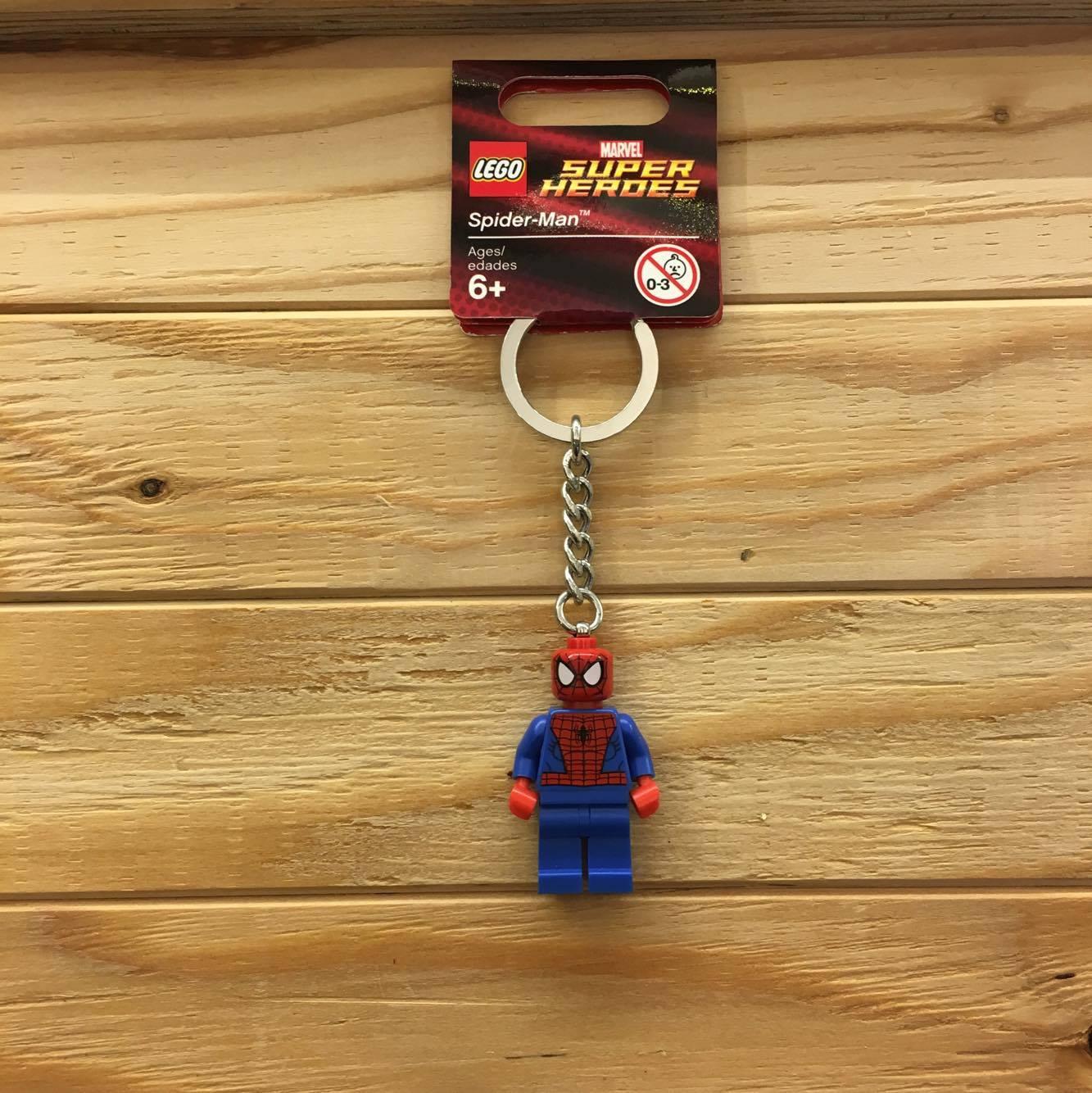 BEETLE LEGO SUPER HEROES SPIDER MAN 蜘蛛人 彼得 班傑明 樂高 積木 鑰匙圈 玩具 0