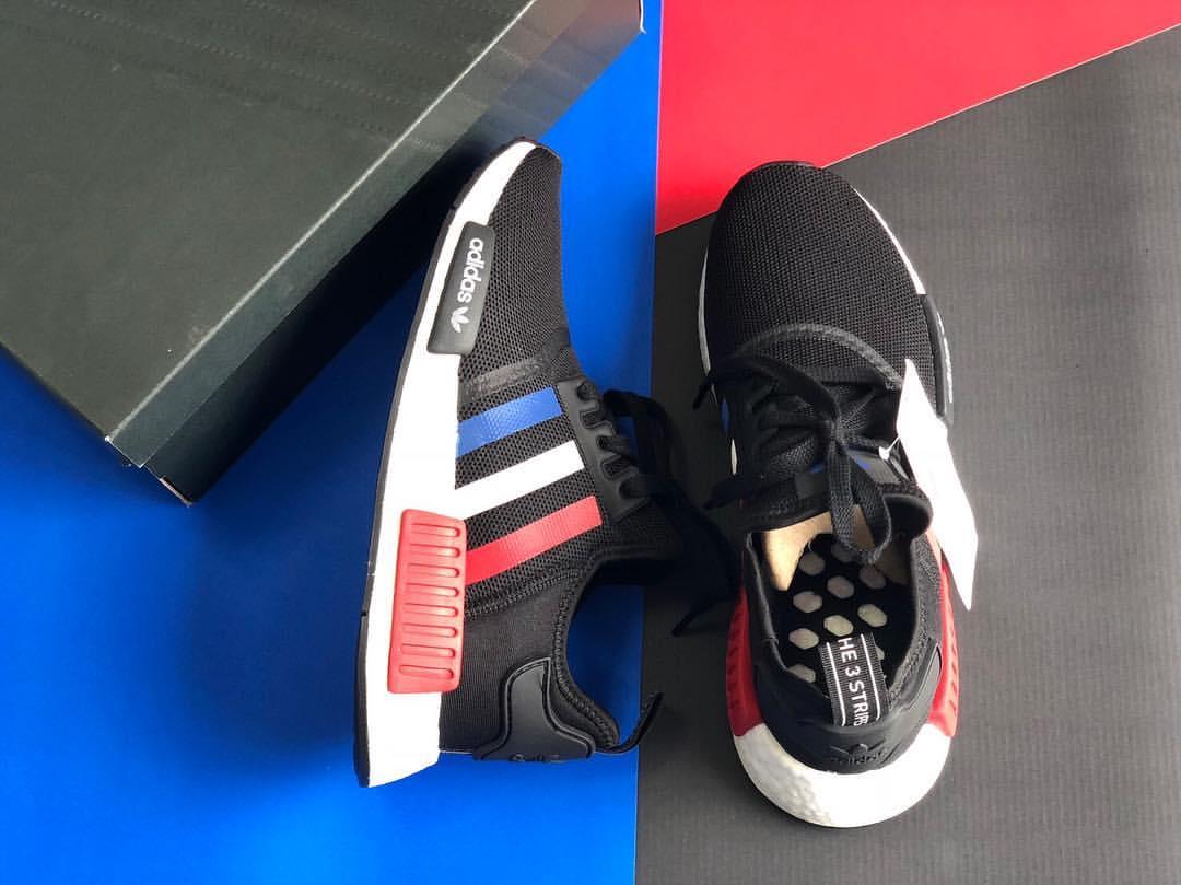 KUMO SHOES-ADIDAS NMD R1 OG BMW 紅藍白 男鞋 F99712 歐美限定款 限量