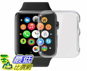 [105美國直購] 保護套 Apple Watch Case LUVVITT Super Easy Built-in Screen Protector Snap-On Case Hard B011E1..