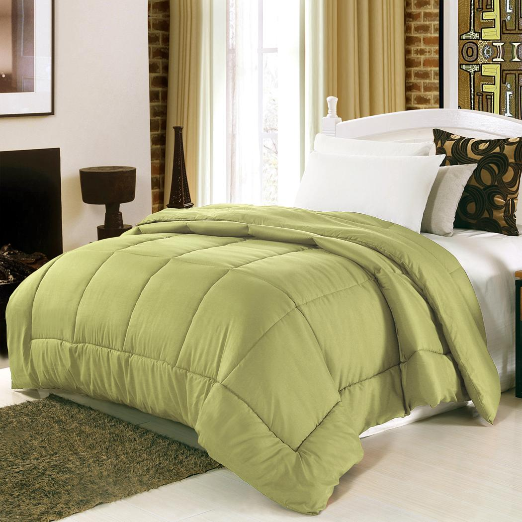 Cotton Thickness Comfortable Pure Color Twin/Queen/King Home Hotel Bedding Quilt 3