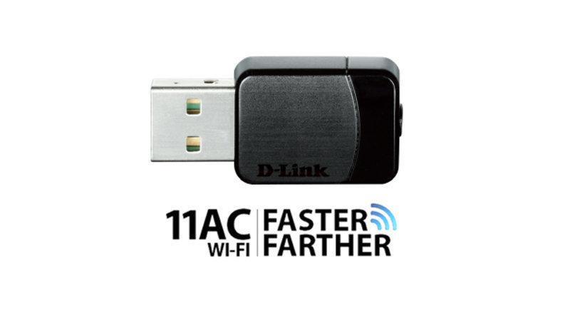 友訊科技 D-Link 雙頻USB 無線網路卡DWA-171