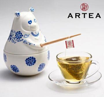 ARTEA愛青瓷Tea熊罐(阿里山仙霧高山茶)3gX12包/華視介紹/華視新聞雜誌 - 限時優惠好康折扣
