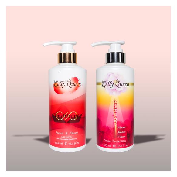 【母親節限定優惠】絲滑護色洗髮精(500ml)+極致修護填充髮膜(500ml)