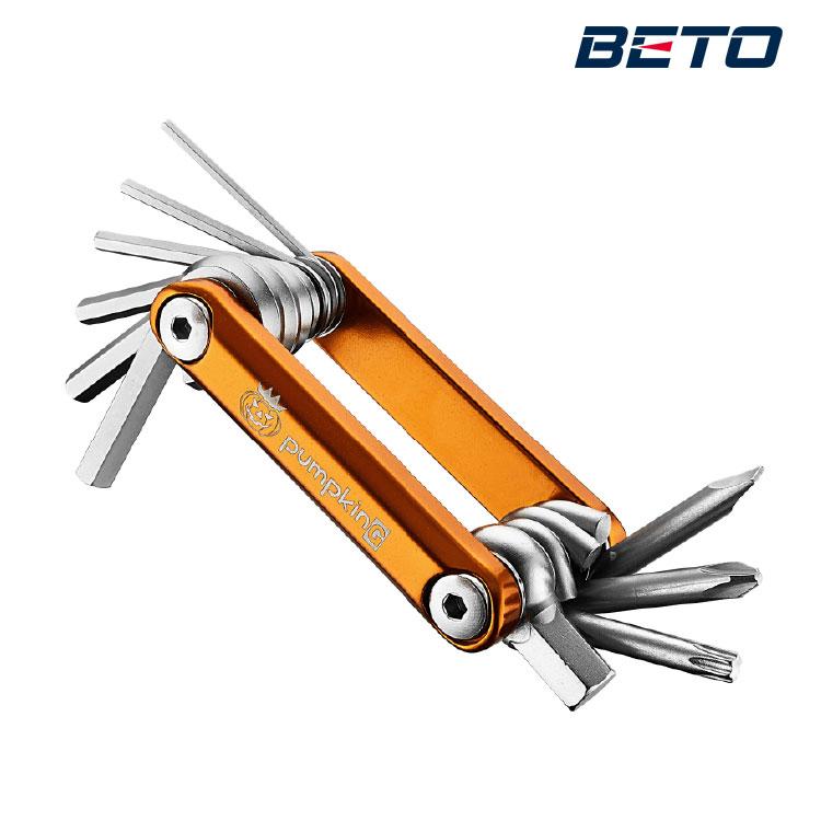 BETO Pumpking 10合一工具組 BT-337  /  城市綠洲(六角板手、星型扳手、一字起子、自行車工具組) 1