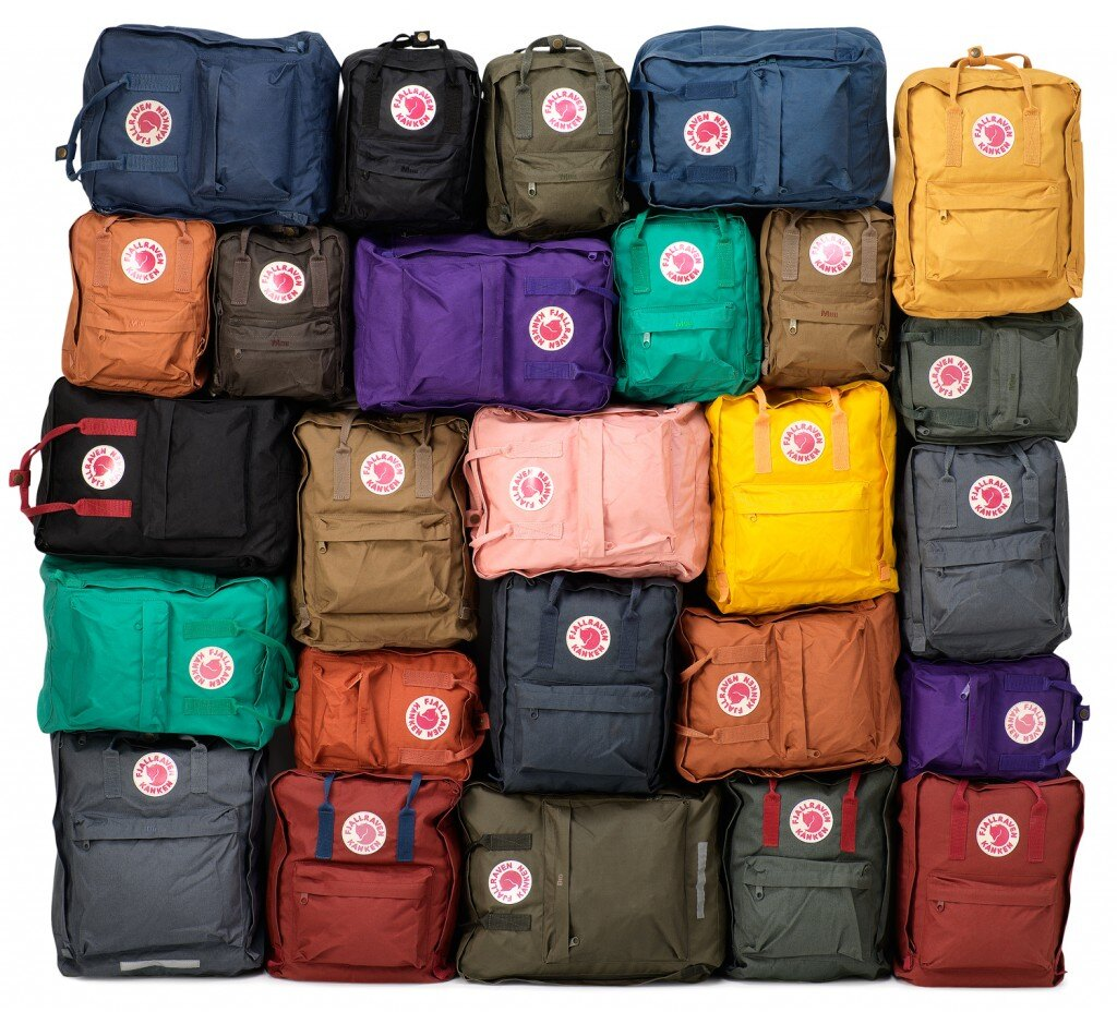【Fjallraven Kanken 】Kanken Classic 326-540 Ox red & Royal Blue 公牛紅皇家藍【全店免運】 ARIBOBO 艾莉波波 4