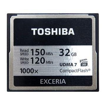 *╯新風尚潮流╭* TOSHIBA 32G 32GB 1000X 讀150寫120 CF 記憶卡 CF-032GTR8A