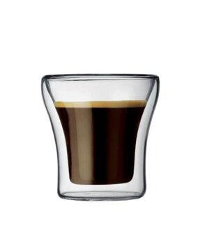 Bodum ASSAM雙層玻璃杯100CC-2入