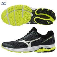 WAVE RIDER 22 一般型 男款慢跑鞋 J1GC183171(黑X白X螢光綠)【美津濃MIZUNO】-MIZUNO 美津濃-潮流男裝推薦