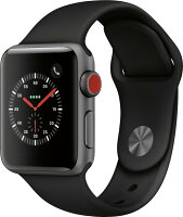 APPLE WATCH SERIES 3 (GPS + CELLULAR) 38MM ALUMINUM CASE WITH SPORT BAND - All Colors