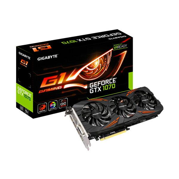 Gigabyte技嘉GV-N1070G1GAMING-8GD(GeForceGTX1070G1Gaming8G)顯示卡※回饋最高2000點