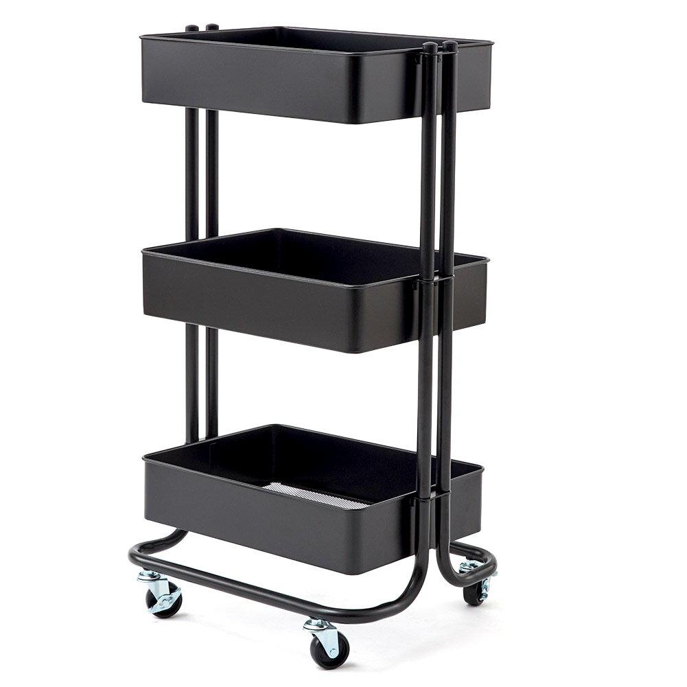 BlueMall: 3-Tier Heavy Duty Storage Organizer Standing Shelf ...
