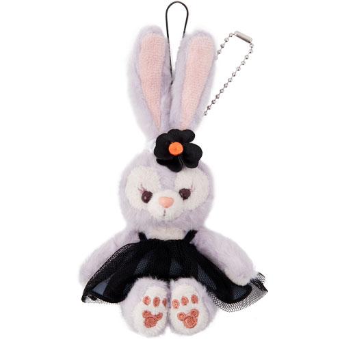 X射線【C917023】日本東京迪士尼代購-萬聖節限定版史黛拉 Stella Lou 坐姿娃娃吊飾,包包掛飾/鑰匙圈/兔子芭蕾/雪莉玫/達菲/畫家