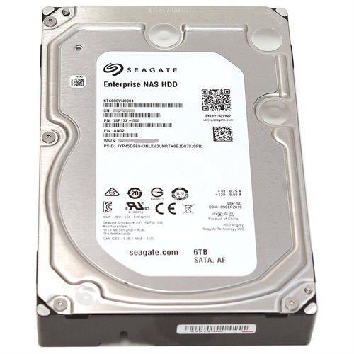 "Seagate Enterprise ST6000VN0001 6 TB 3.5"" Internal Hard Drive - SATA - 7200 - 128 MB Buffer 1"