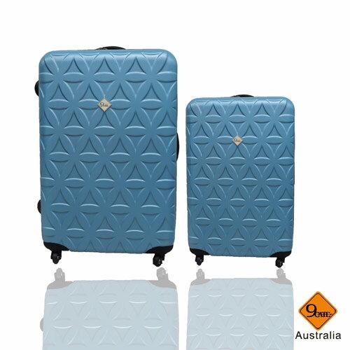 Gate9花花系列ABS霧面兩件組24吋+20吋輕硬殼旅行箱 / 行李箱 4