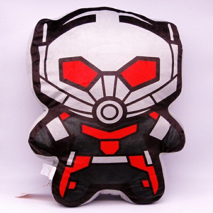 【UNIPRO】Marvel 蟻人 Ant Man Q版造型 抱枕 靠背枕 美國隊長3 英雄內戰 漫威正版授權