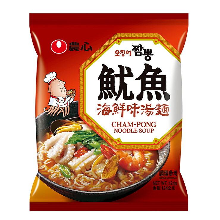 農心 魷魚海鮮味湯麵 124g