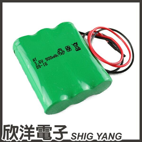 ※欣洋電子※SHYKUANG一次性鋰電池(3MR-900AA)3.6V900mAh帶短線