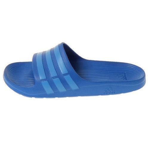 Adidas Duramo Slide 男鞋 女鞋 拖鞋 防水 一體成形 水藍 【運動世界】 B44297